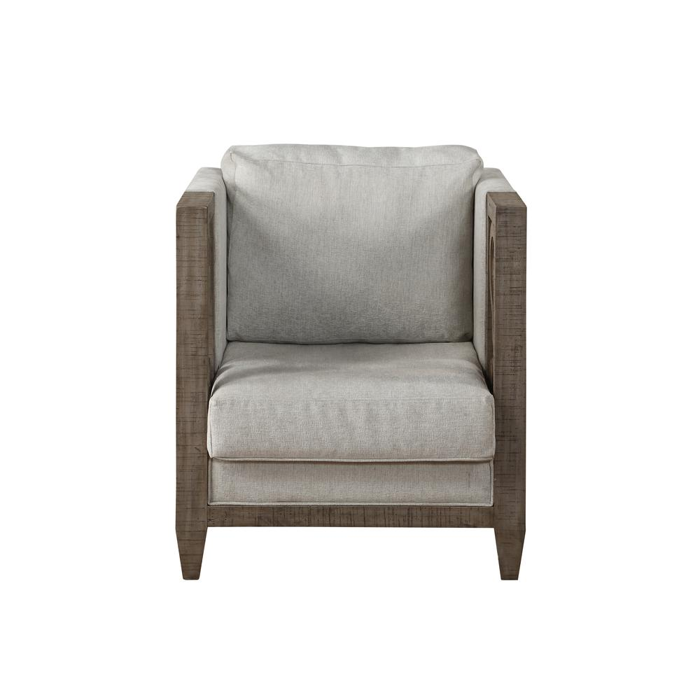 Artesia Chair, Fabric & Salvaged Natural. Picture 3