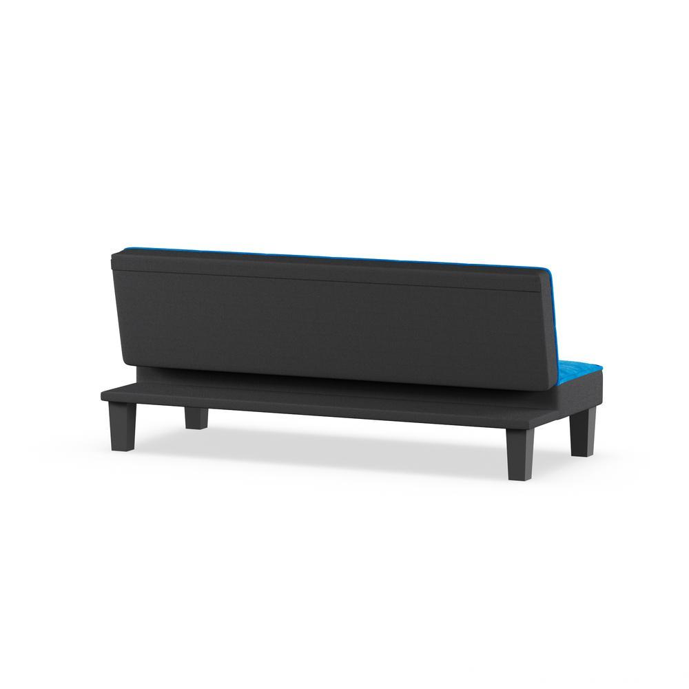 Hamar Adjustable Sofa, Chocolate Flannel Fabric. Picture 5