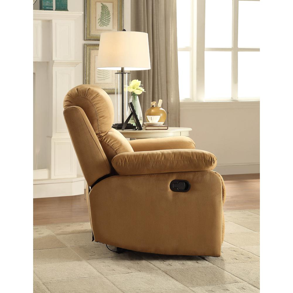 Parklon Recliner, Brown Microfiber. The main picture.