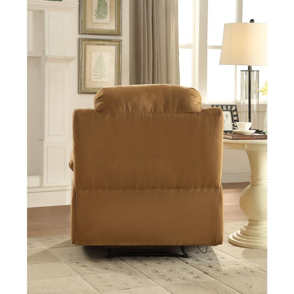 Parklon Recliner, Brown Microfiber. Picture 2