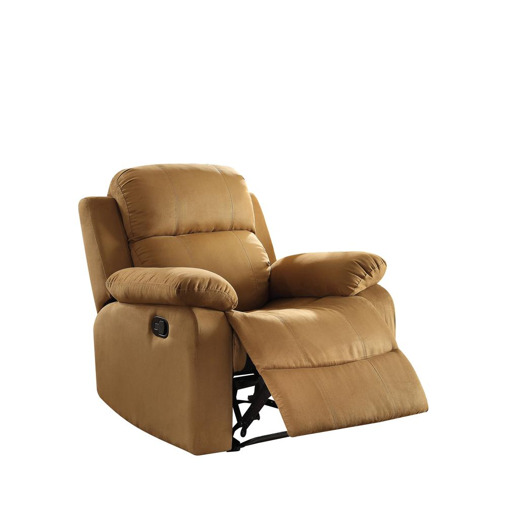 Parklon Recliner, Brown Microfiber. Picture 4