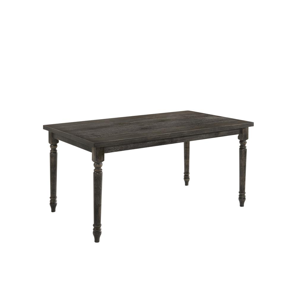 Claudia II Dining Table, Weathered Gray. Picture 1