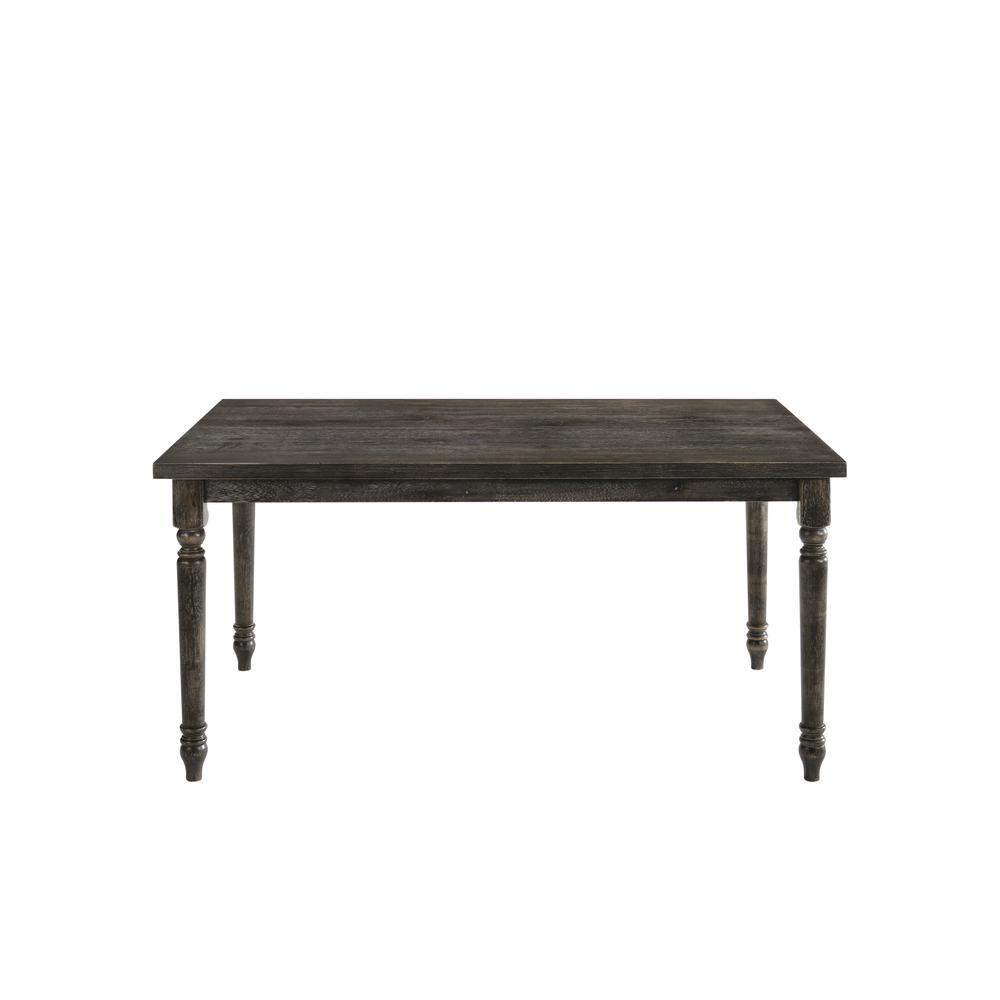 Claudia II Dining Table, Weathered Gray. Picture 2
