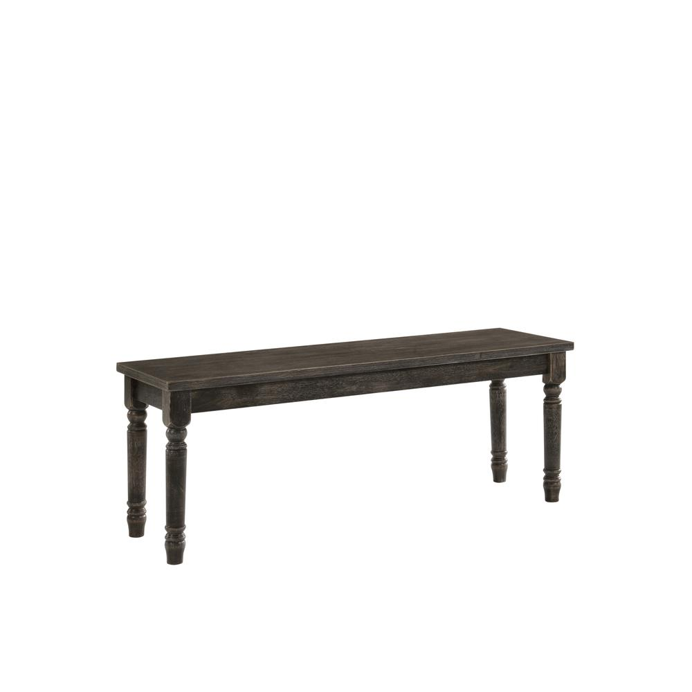 Claudia II Dining Table, Weathered Gray. Picture 9