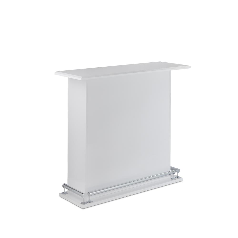 Kite Bar Table, White High Gloss. Picture 1