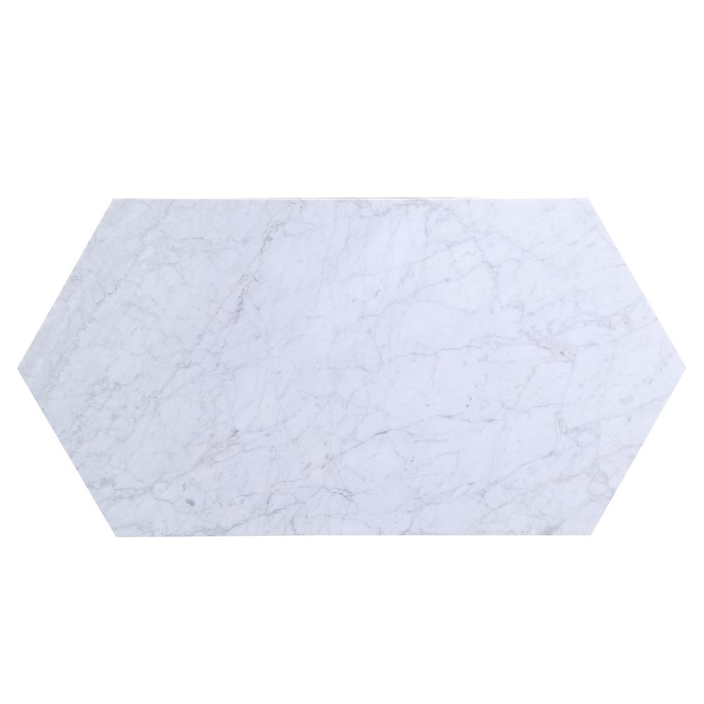 Reon Coffee Table, Marble & Gray. Picture 6