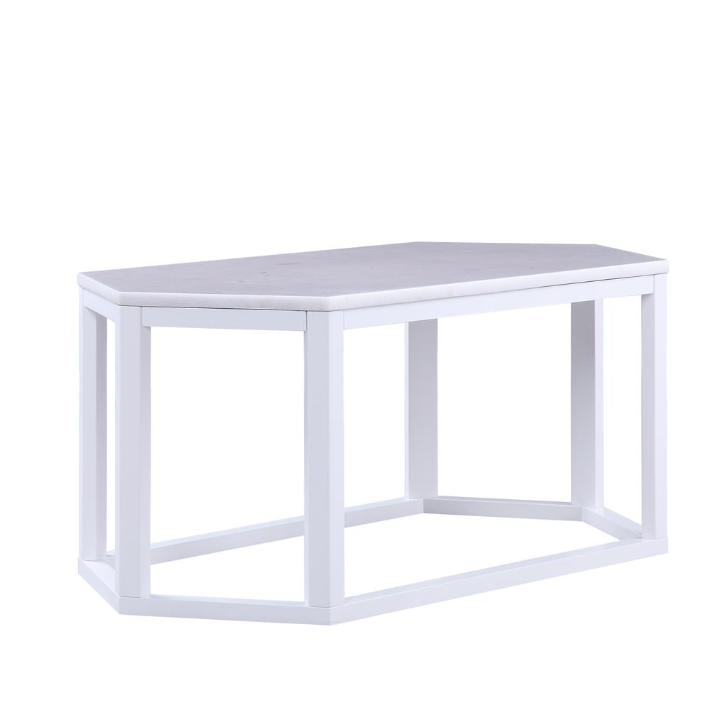 Reon Coffee Table, Marble & Gray. Picture 17