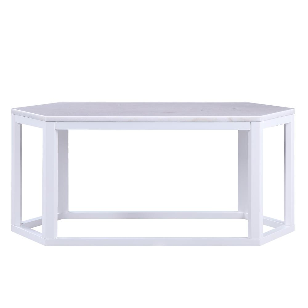 Reon Coffee Table, Marble & Gray. Picture 18