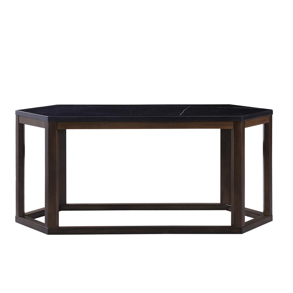 Reon Coffee Table, Marble & Gray. Picture 28