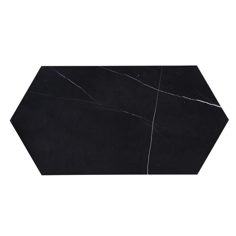 Reon Coffee Table, Marble & Gray. Picture 30
