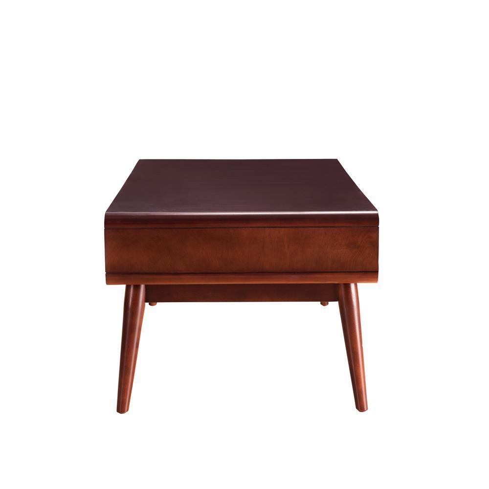 Christa Coffee Table, Espresso & White. Picture 5