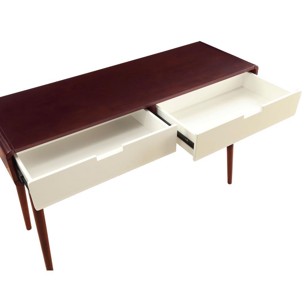 Christa Coffee Table, Espresso & White. Picture 15