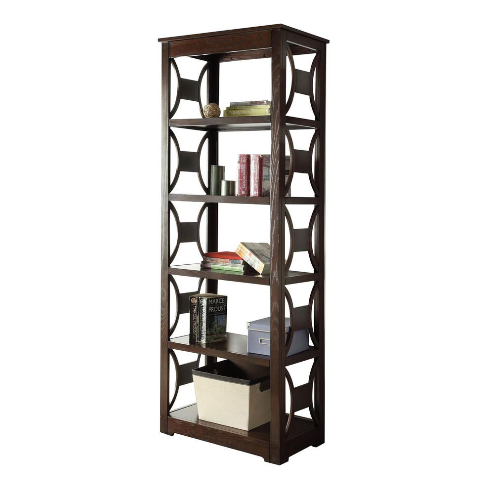Madge Bookcase, Espresso. Picture 1