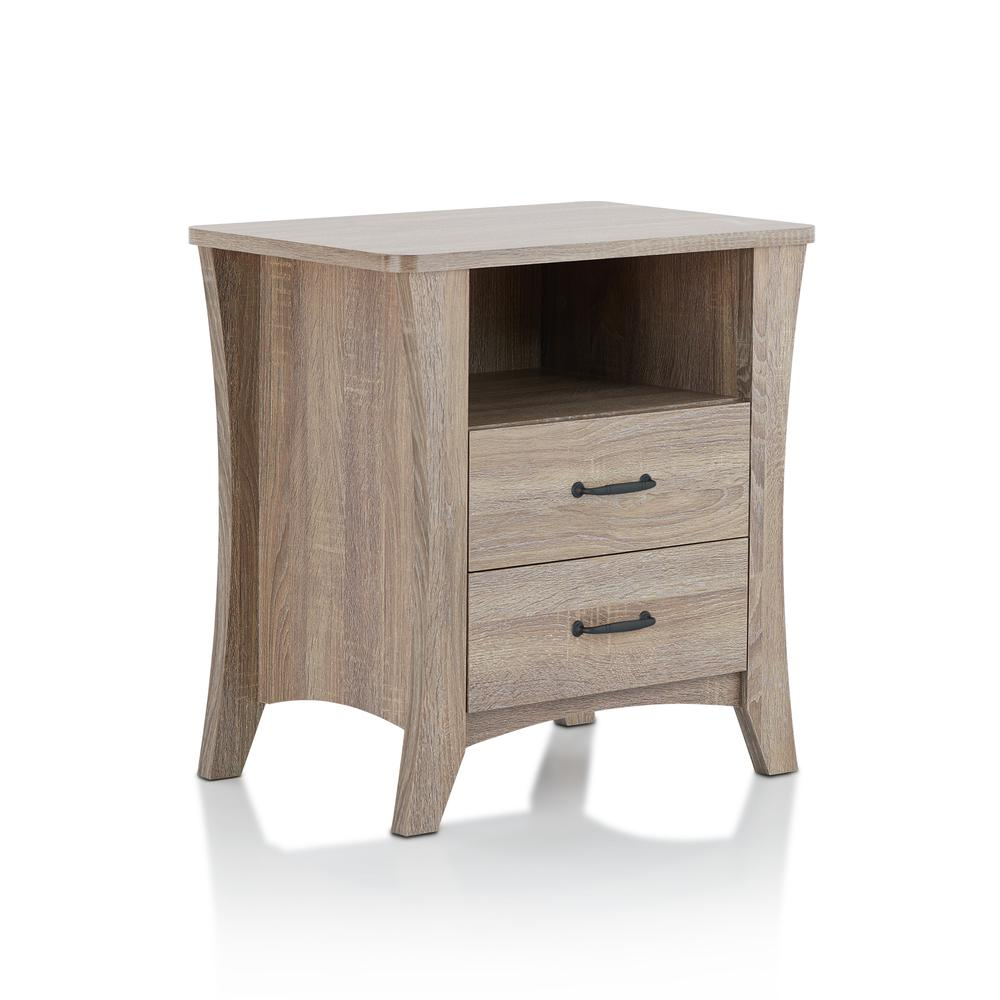 Colt Night Table, Rustic Natural. Picture 1