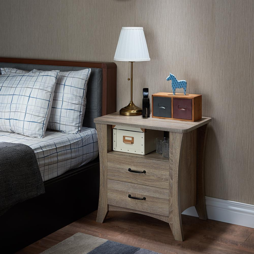 Colt Night Table, Rustic Natural. Picture 6