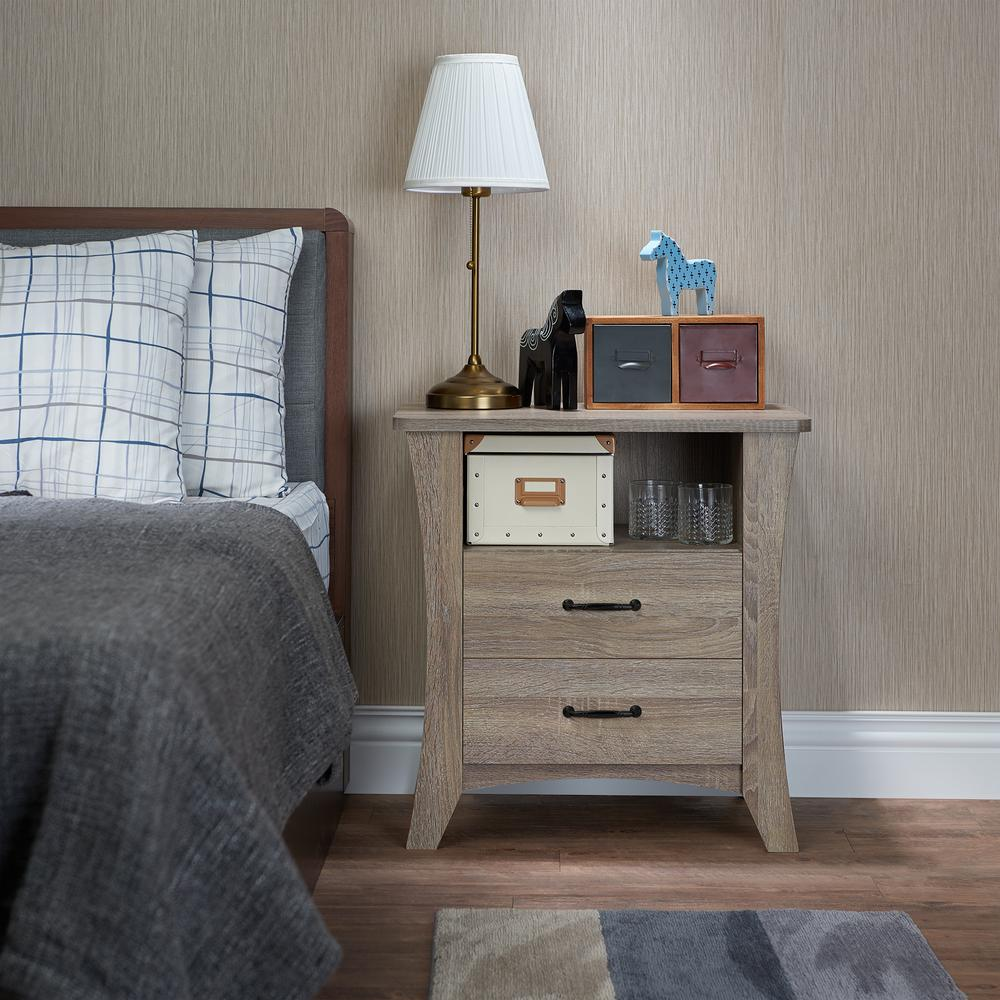 Colt Night Table, Rustic Natural. Picture 7