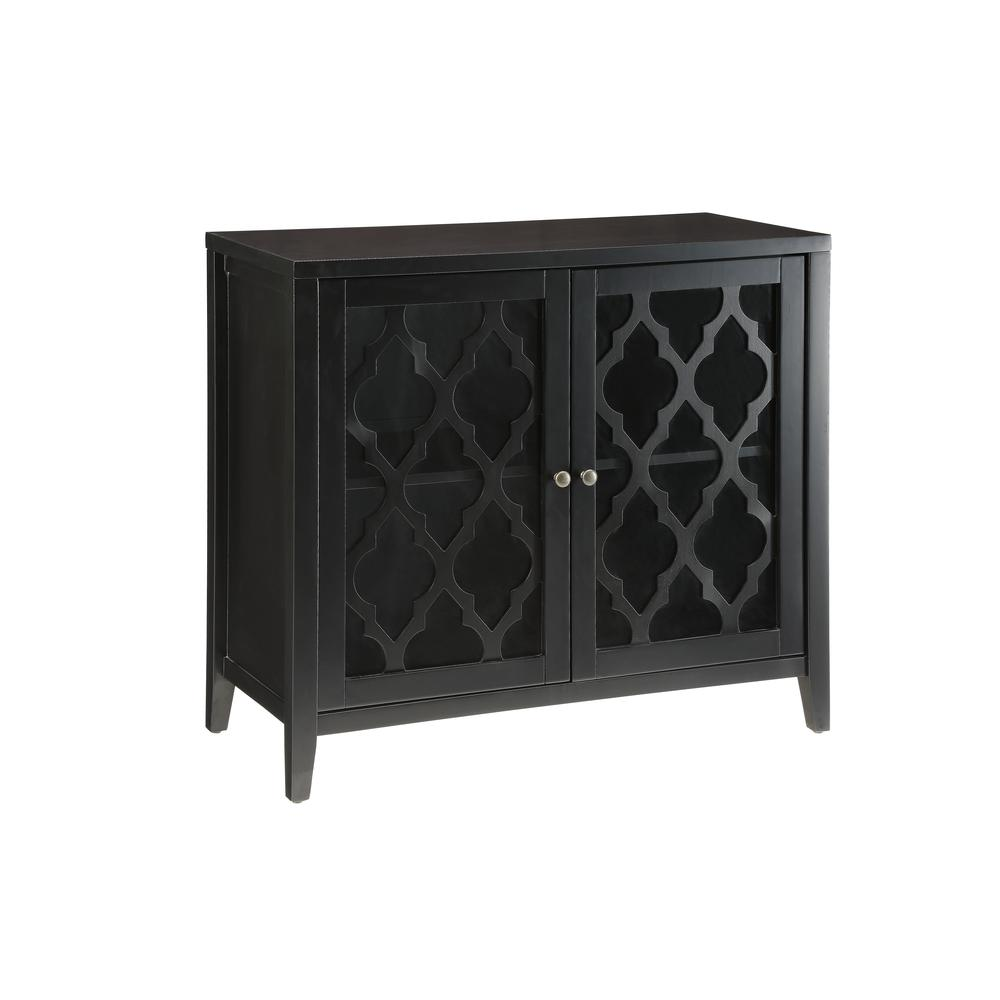 Ceara Console Table, Black. Picture 2