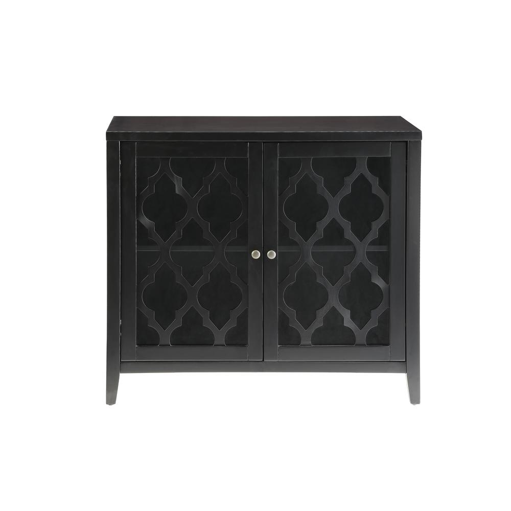 Ceara Console Table, Black. Picture 3