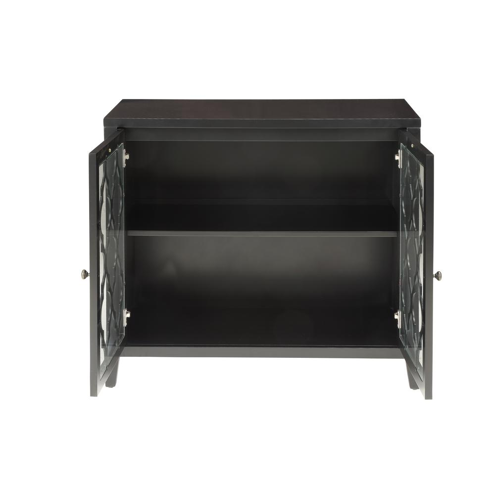 Ceara Console Table, Black. Picture 4