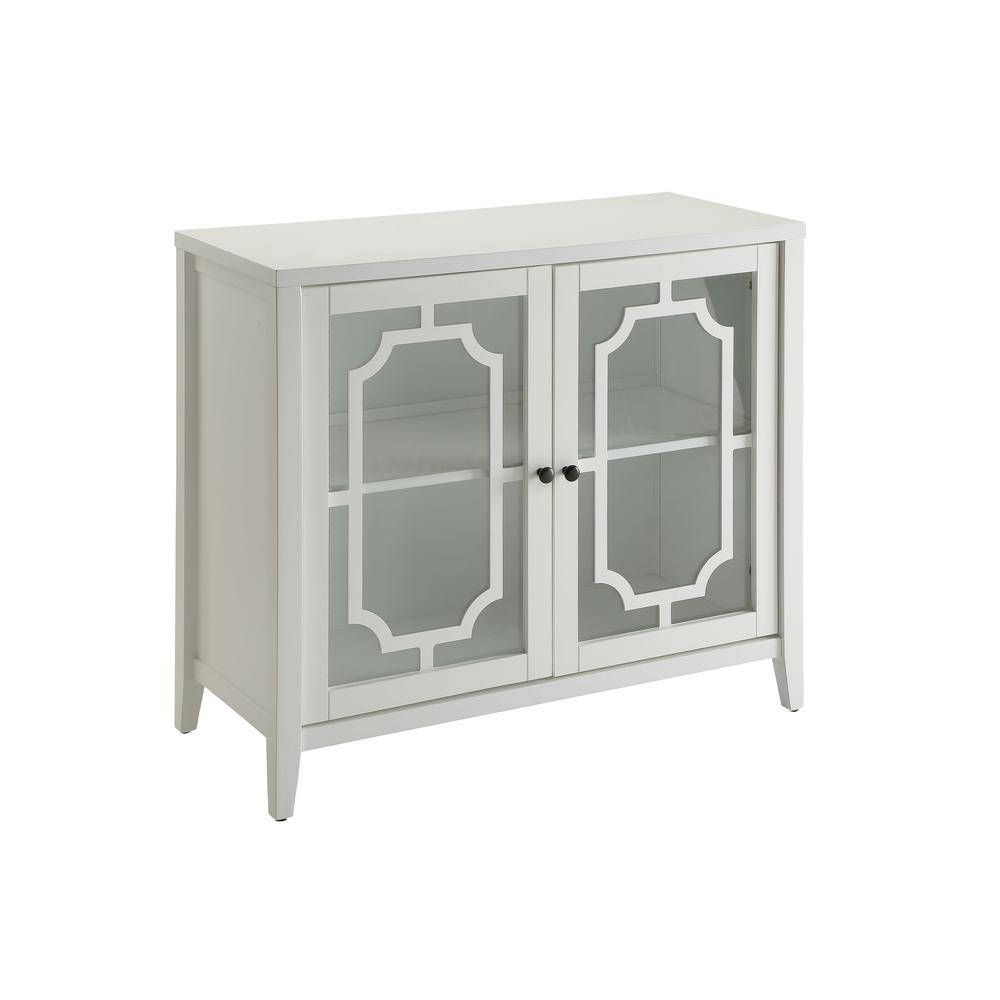 Ceara Console Table, White. Picture 1