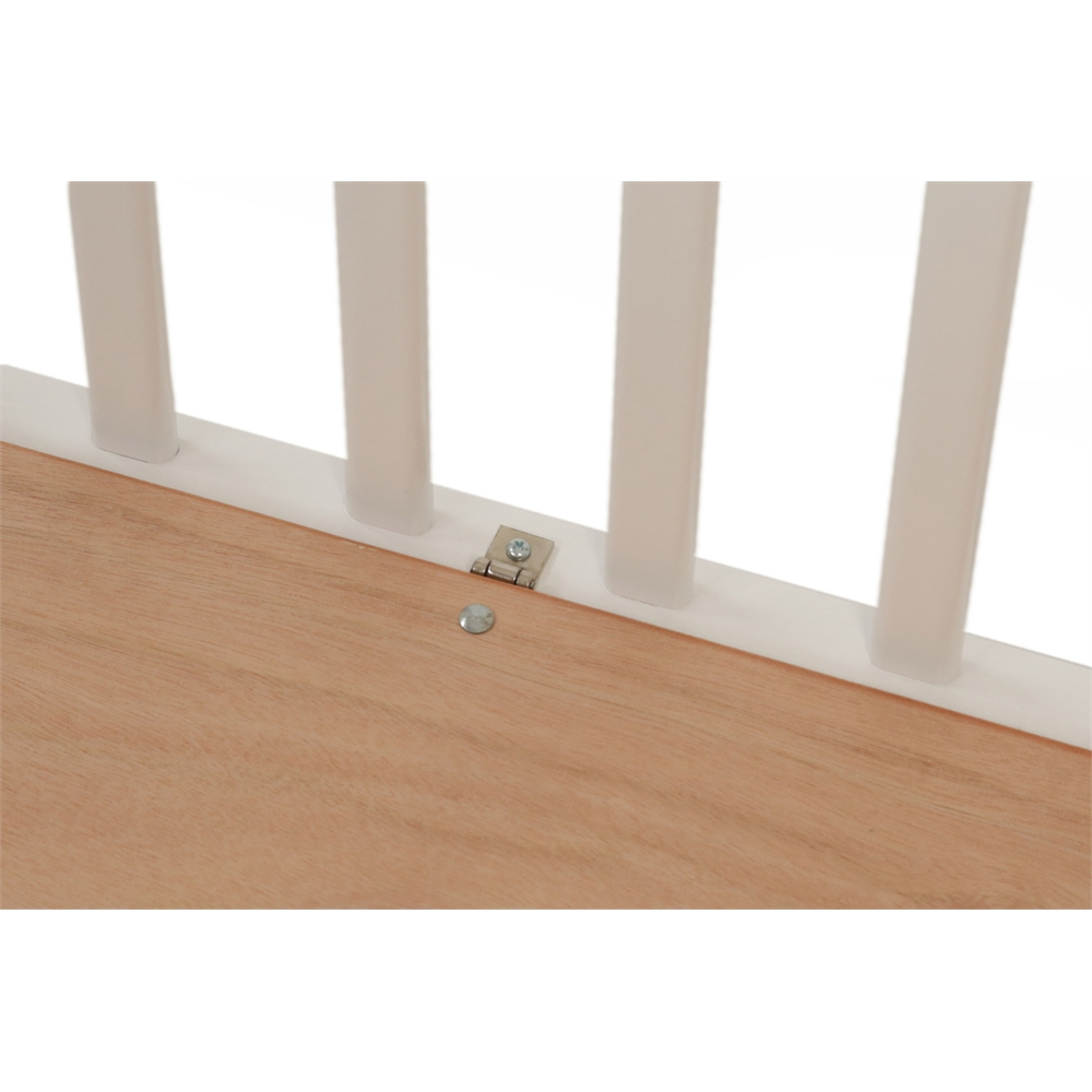 The Little Wood Crib – White, White. Picture 8