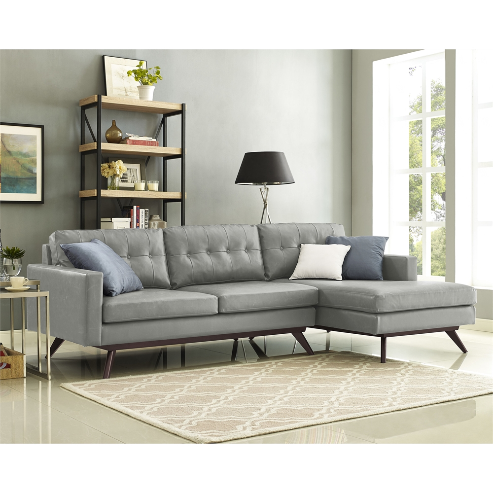 Blake Antique Grey Raf Sectional
