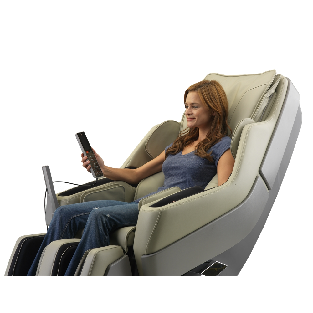 Dynamic Manhattan Edition 2 Stage Zero Gravity Massage Chair Ivory