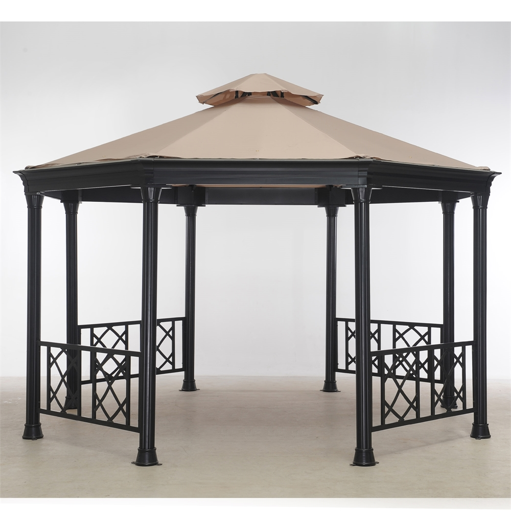 Octagonal Soft Top Gazebo