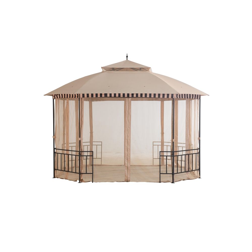 Gazebo with mosquito netting - Canopy tent with mosquito net ...