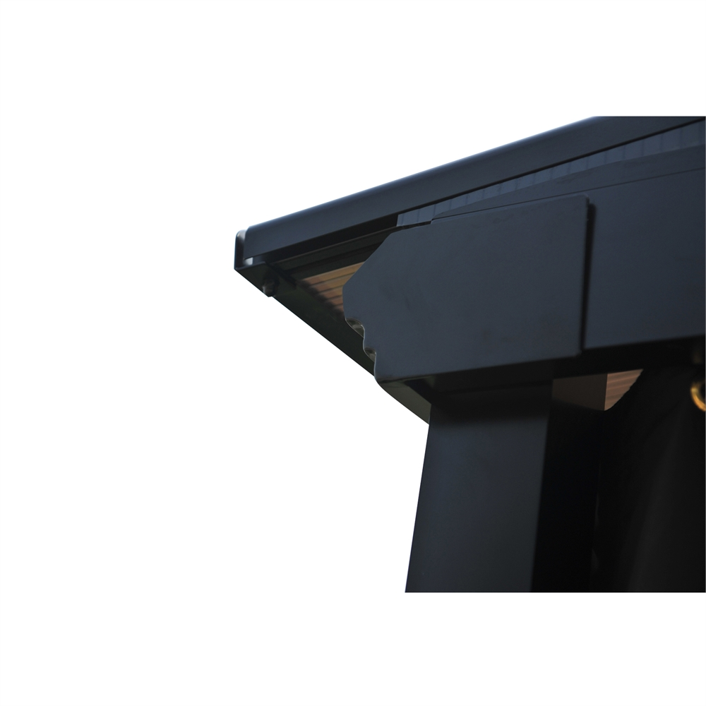 Slanted Pc Roof Gazebo