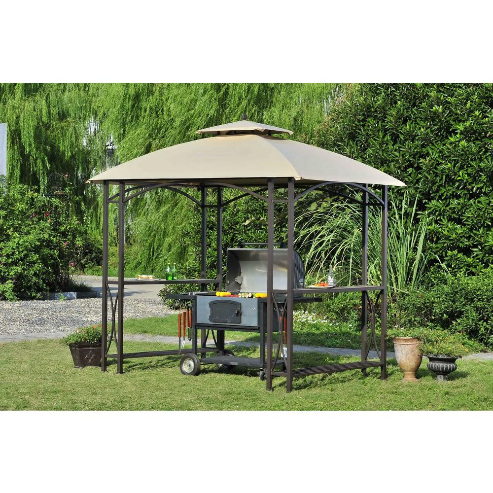 Replacement Canopy Set For L Gg040pst Sheridan Grill Gazebo