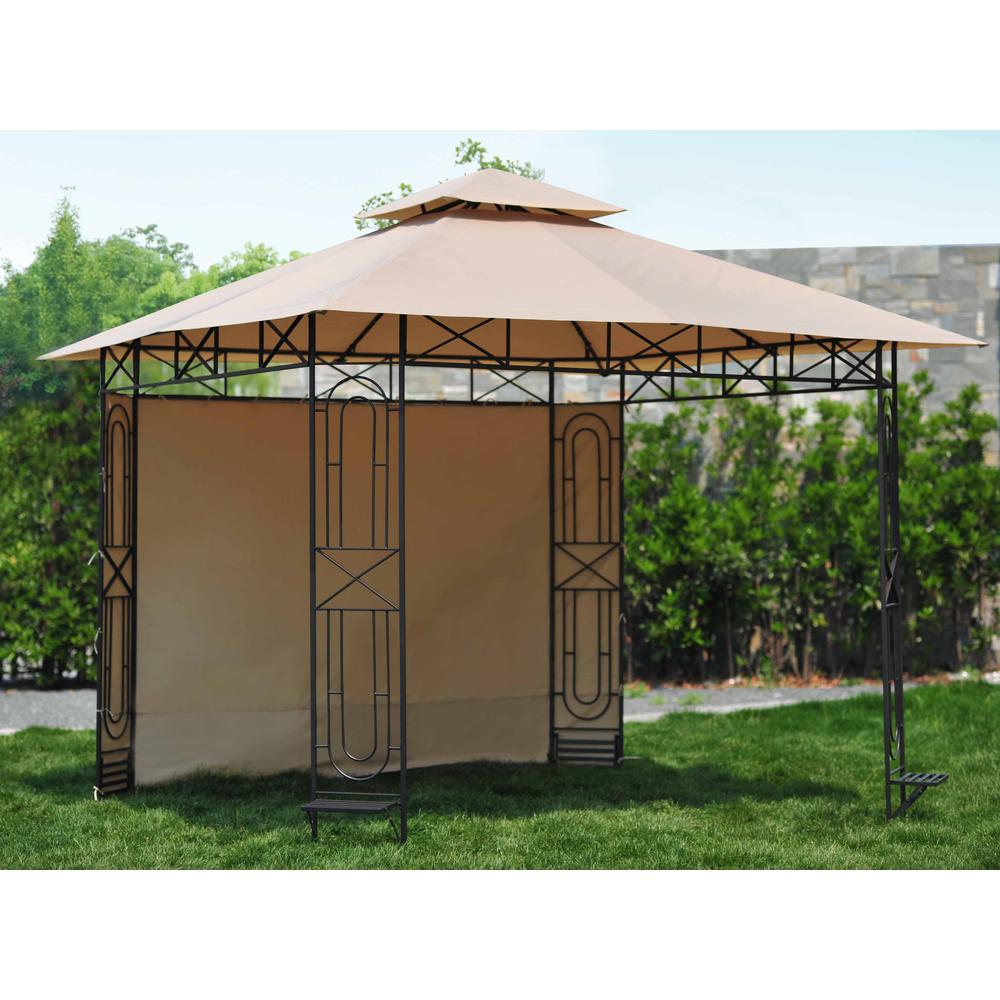 Replacement Canopy Set For L Gz071pst 3 10x10 Gardenscape