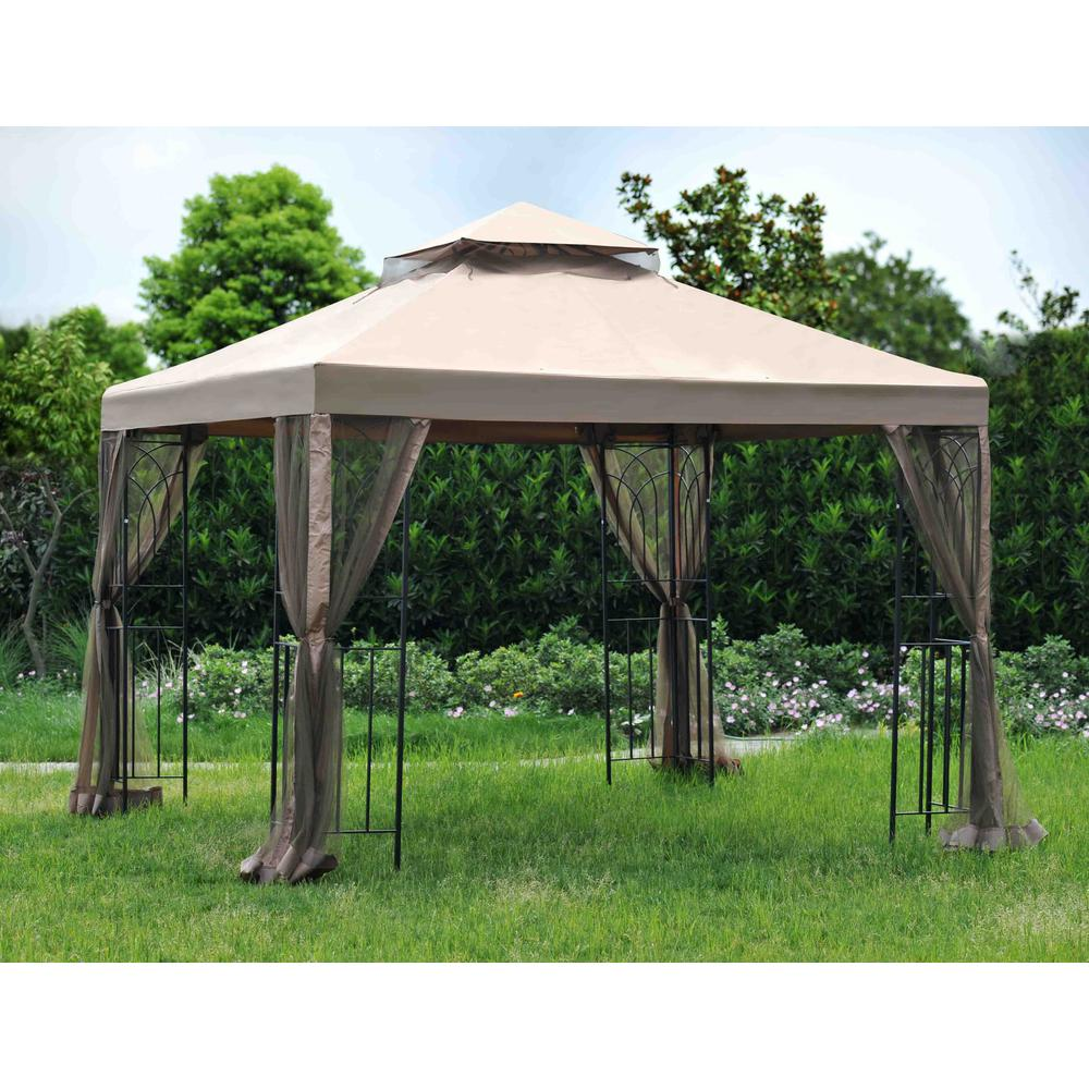Replacement Canopy Set For L Gz385pst D 8x8 Lansing Gazebo