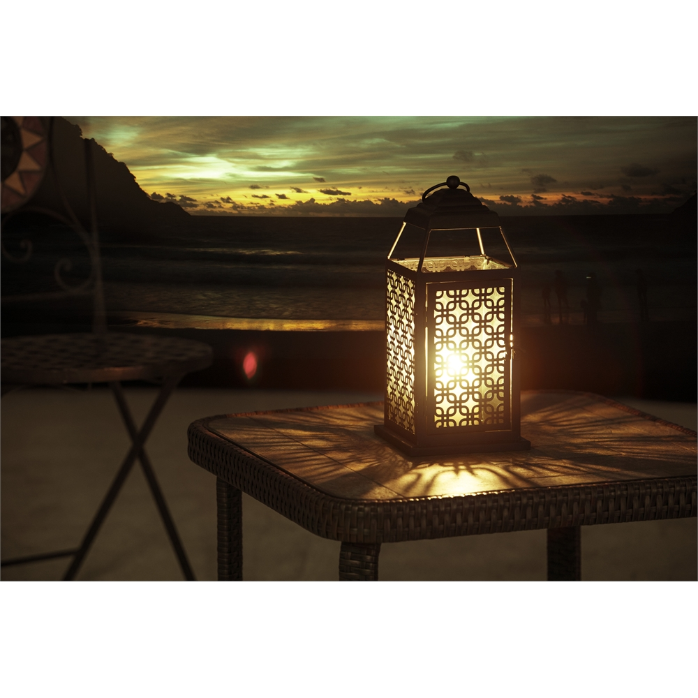 Metal candle lantern for Wire candle lantern