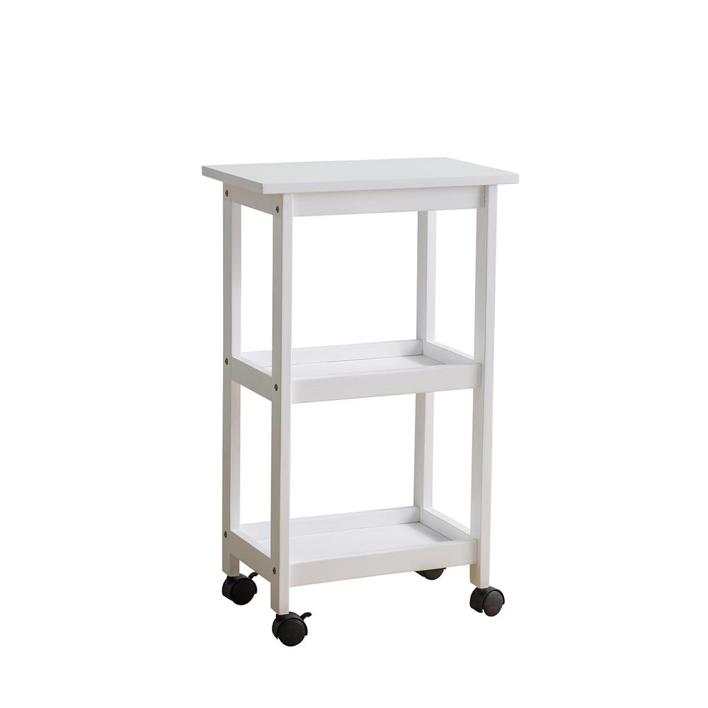 West End Cart - White