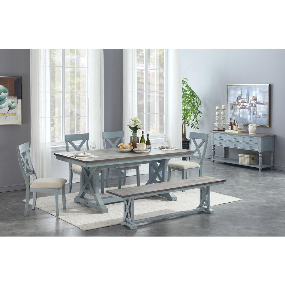 Bar Harbor Dining Table. Picture 4