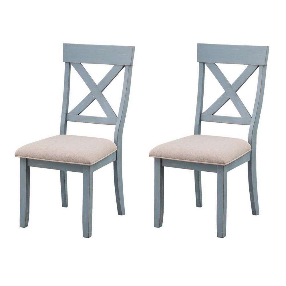Set of 2 Bar Harbor Dining Chairs. Picture 1