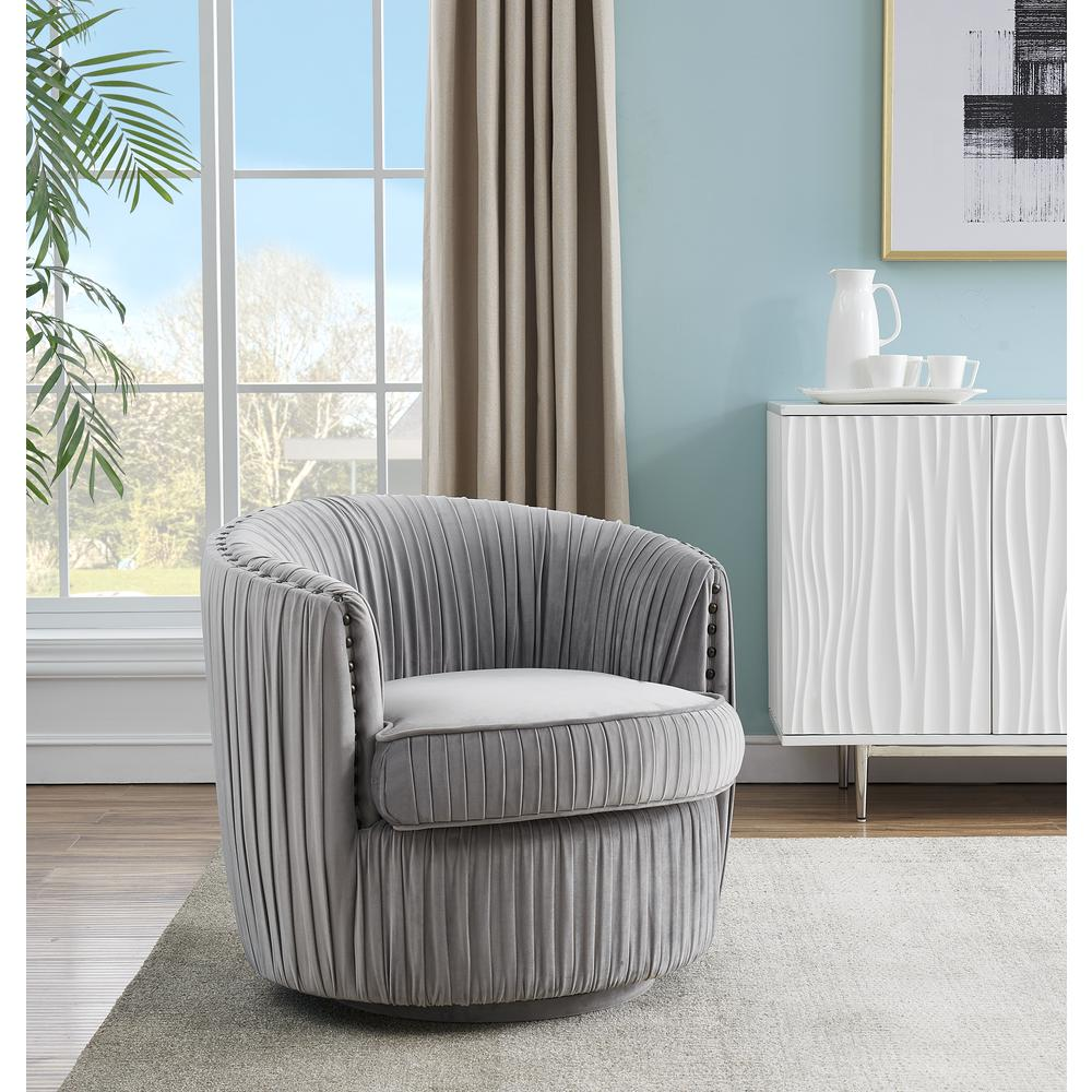 Swivel Accent Chair. Picture 4