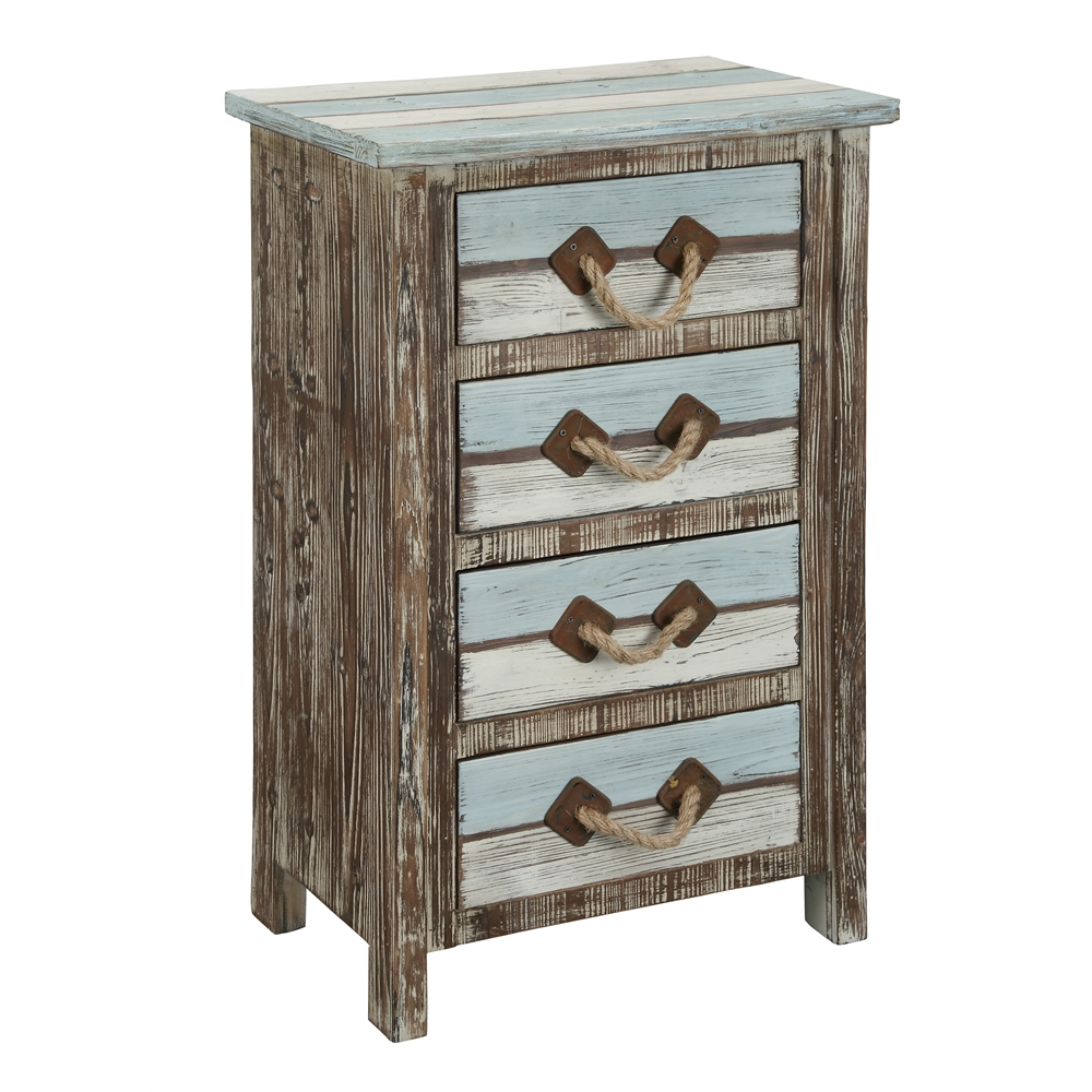 Four Drawer Chest, Islander Multicolor. Picture 1