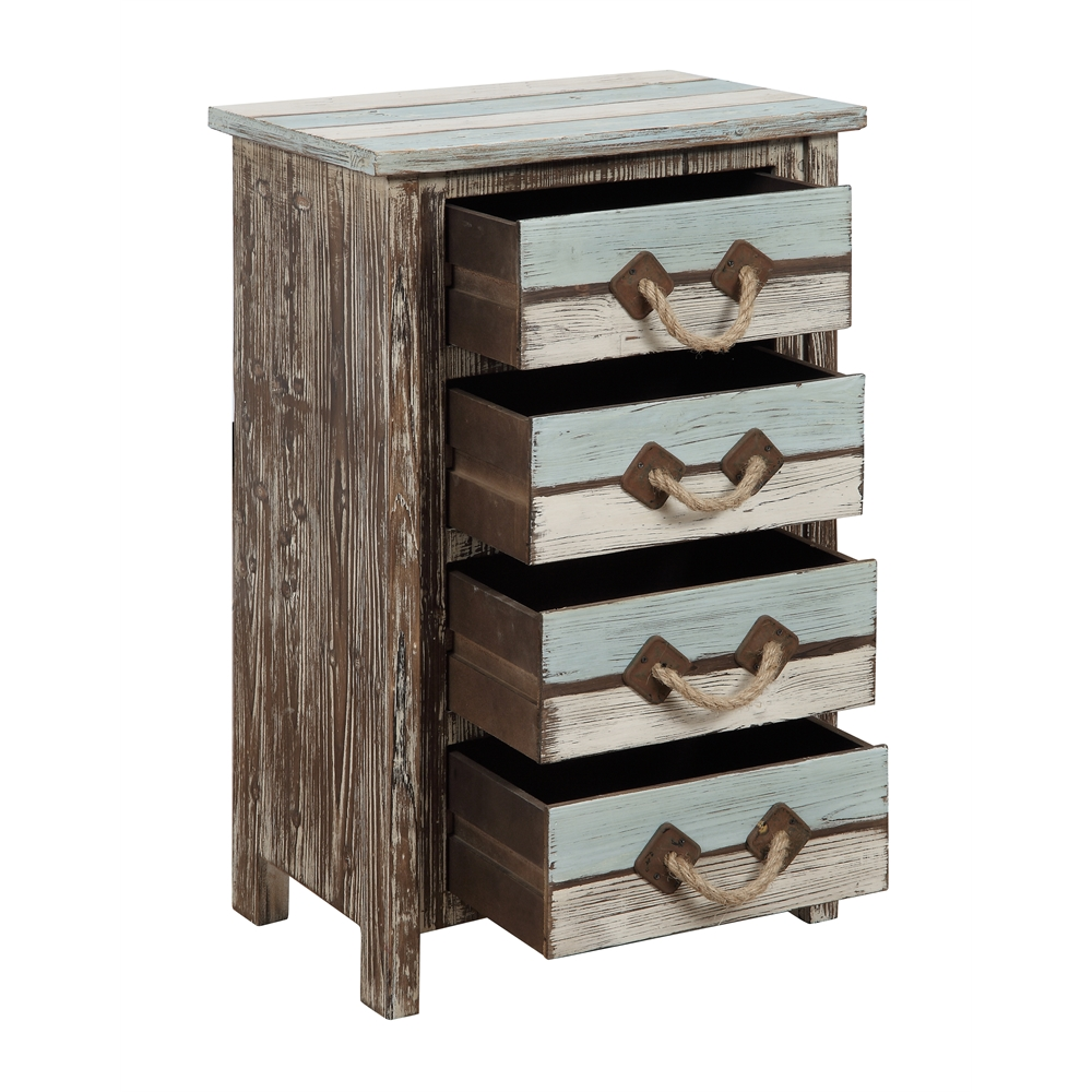 Four Drawer Chest, Islander Multicolor. Picture 2