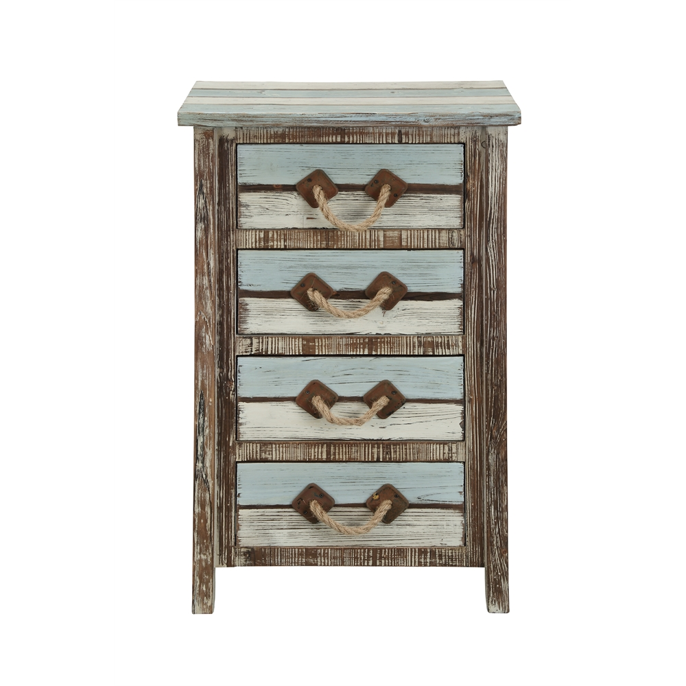 Four Drawer Chest, Islander Multicolor. Picture 4