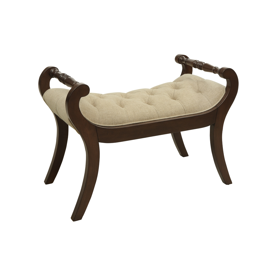 Accent Bench Tudor Brown