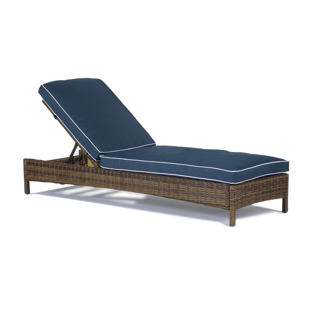 bradenton chaise lounge with navy cushions. Black Bedroom Furniture Sets. Home Design Ideas