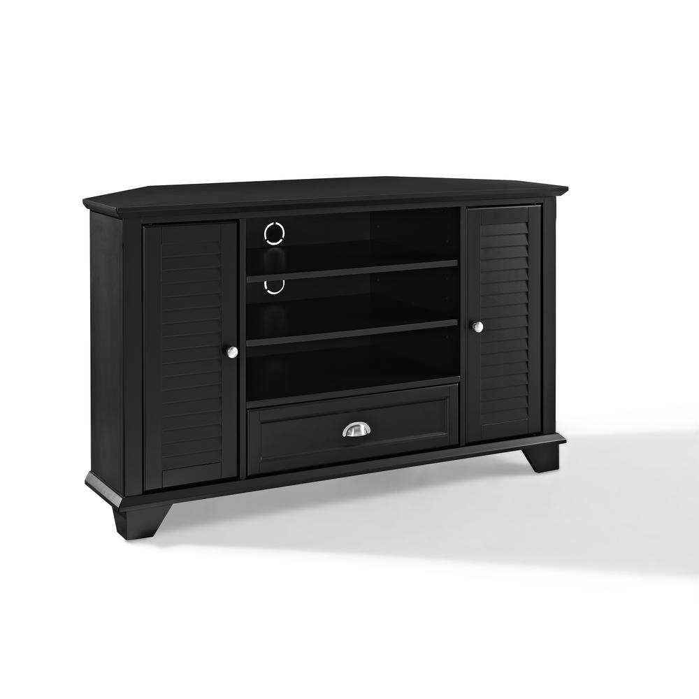 Palmetto 50 Quot Corner Tv Stand In Black