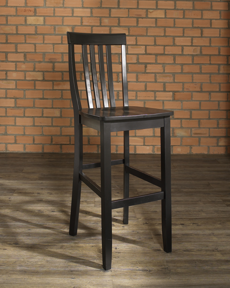 School House Bar Stool In Black Finish With 30 Inch Seat  : 188cf500330bke3m from www.bisonoffice.com size 800 x 1000 jpeg 427kB