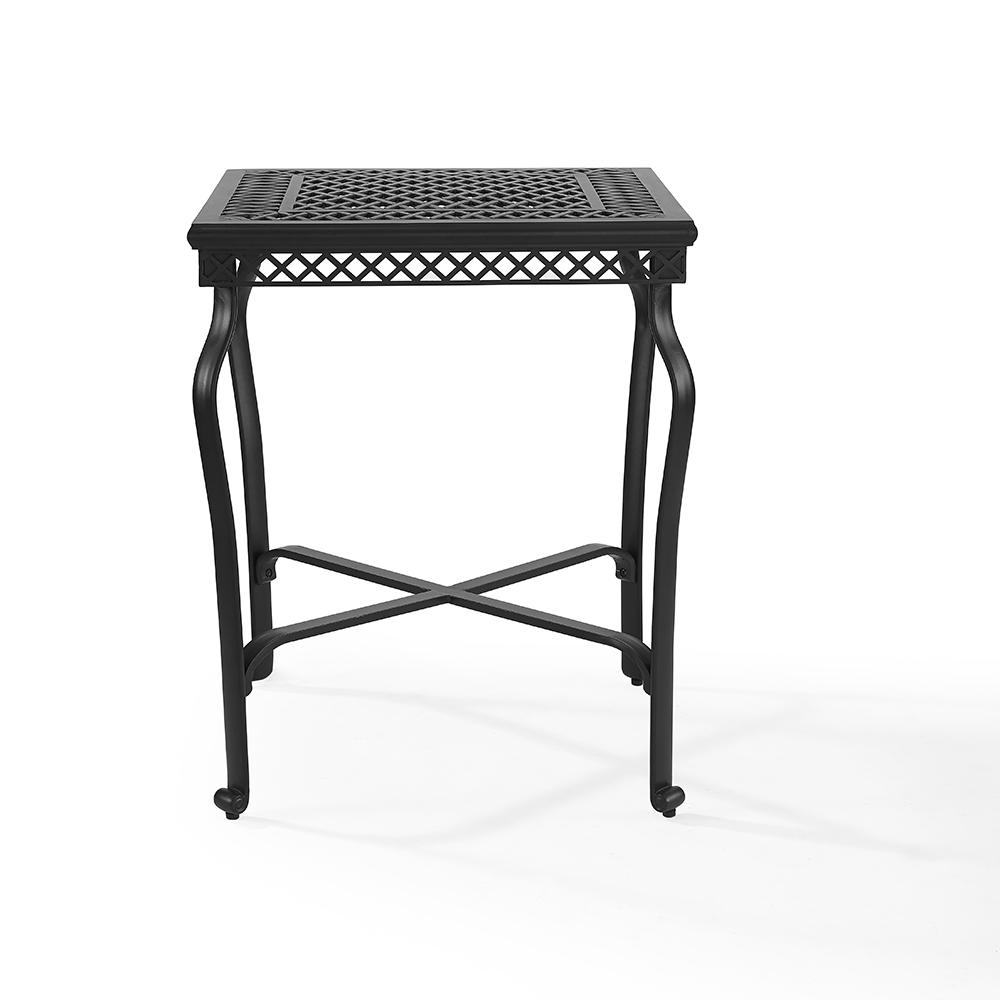 Portofino Cast Aluminum Bar Height Bistro Table In