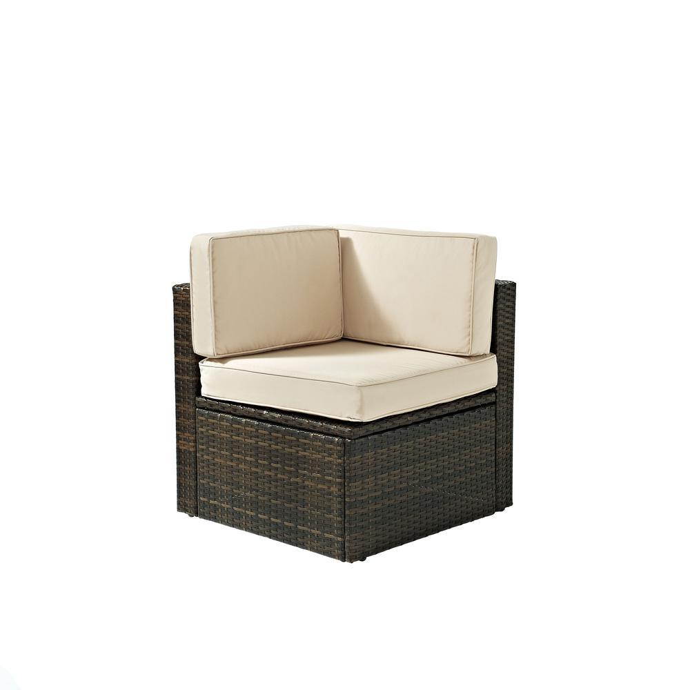 Palm Harbor Outdoor Wicker Corner Chair