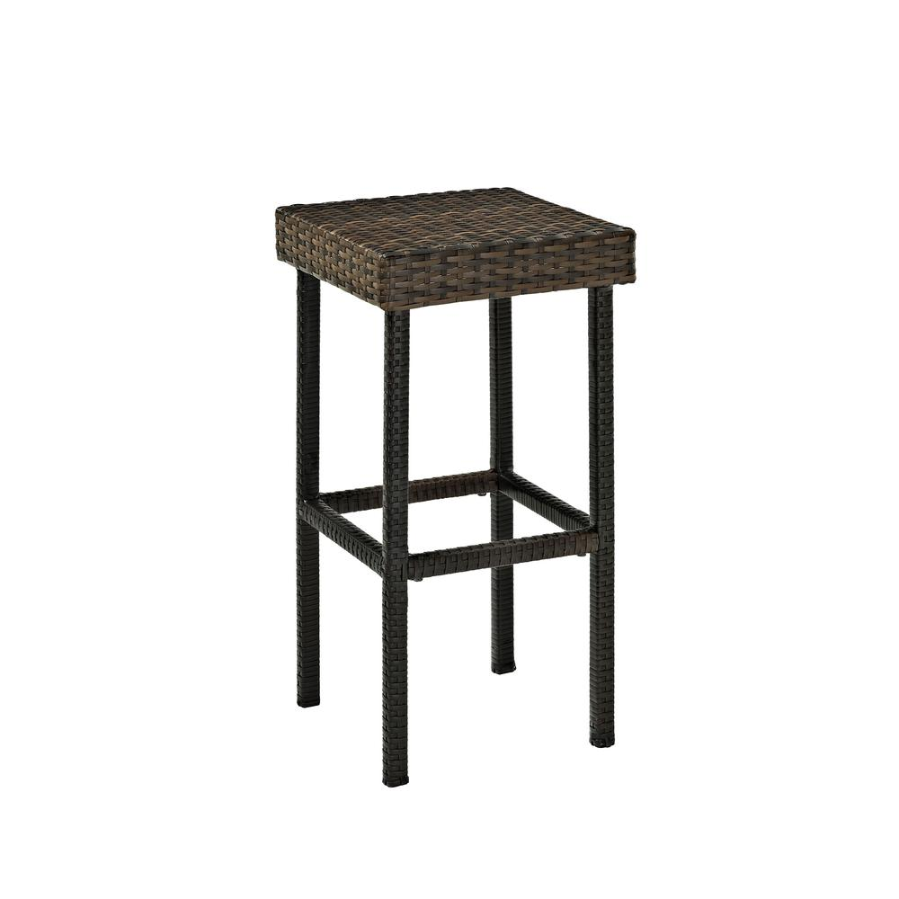 Palm Harbor Outdoor Wicker 29 Quot Bar Height Stool Set Of 2