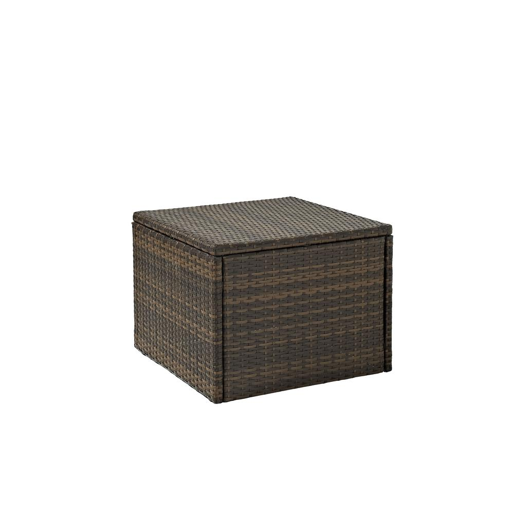Palm Harbor Outdoor Wicker Coffee Sectional Table