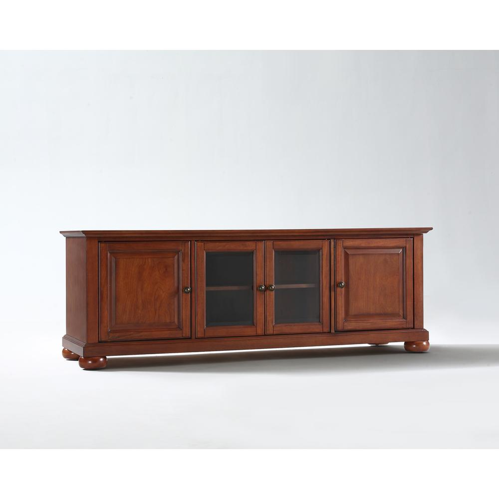 """Alexandria 60"""" Low Profile Tv Stand In Classic Cherry Finish"""